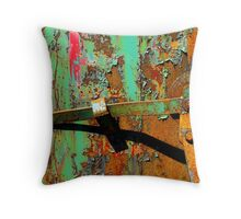 Locked Lever Throw Pillow