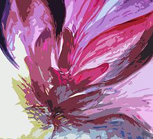 Pink Tulip study #4 by Amy Bettison