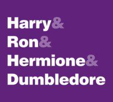 Harry Potter Ampersand T-Shirt by destinysagent