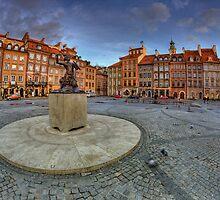 Warsaw - Marmaid - 353x365 by Pawel Tomaszewicz