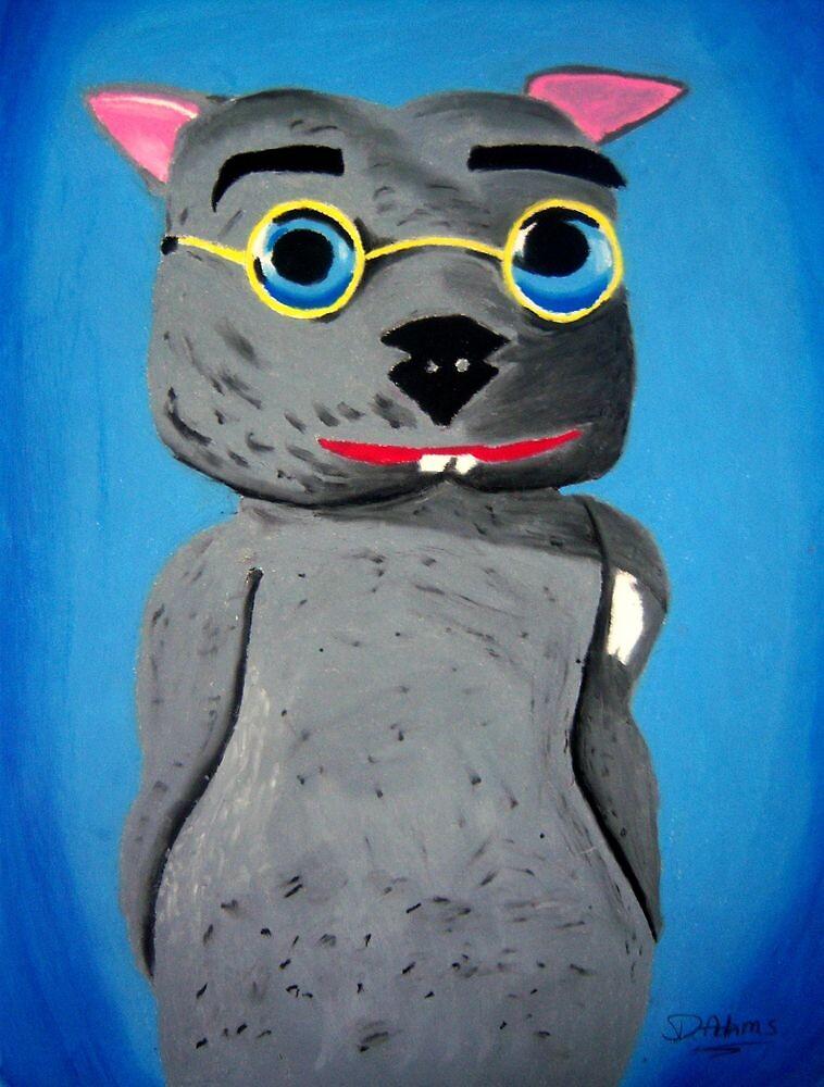 Binky the Wombat King by Debbie  Adams