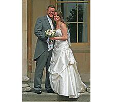 Mr & Mrs Fisher Photographic Print