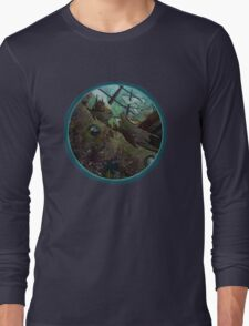 Underwater Shipwreck Long Sleeve T-Shirt