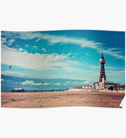 blackpool tower.. Poster