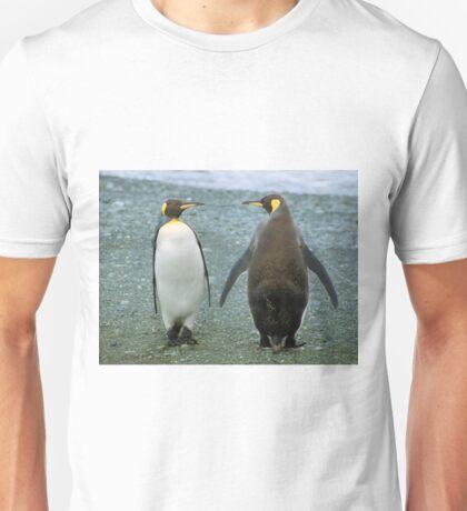 Conversation: King Penguins, Macquarie Island Unisex T-Shirt