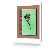 Heather. Greeting Card