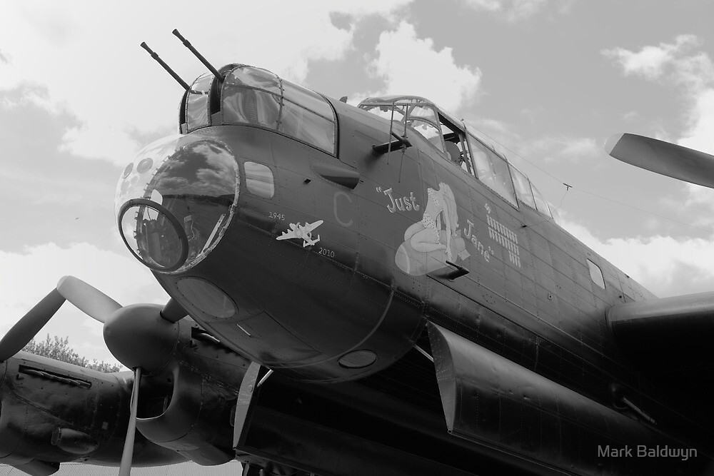 Just Jane - Avro Lancaster  by Mark Baldwyn