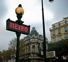 Paris Metro by David Preston