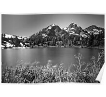 Picture Lake, Mount Baker Wilderness Poster