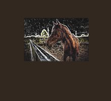 Brown Horse in a Field Unisex T-Shirt