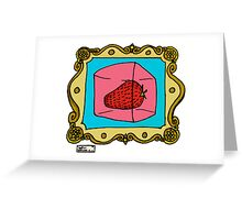 Food For Thought - Strawberry Jell-o Greeting Card