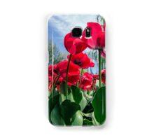 Red Tulips Samsung Galaxy Case/Skin