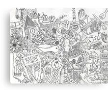 random thoughts Canvas Print