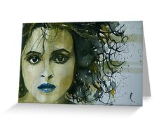 Helena Bonham Carter  Greeting Card
