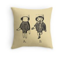 Advanced Hand Puppetry Technique Throw Pillow
