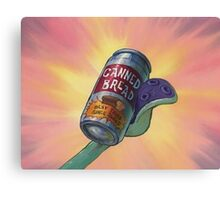 Canned Bread Canvas Print