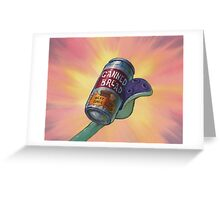 Canned Bread Greeting Card