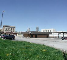 Omaha - Nebraska, Amtrak RR Station by Jack McCabe