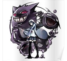 Gengar with family Poster
