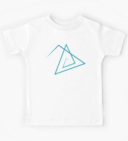 Triangle Line Pattern Kids Tee