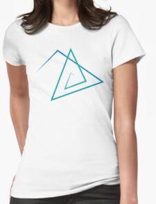 Triangle Line Pattern T-Shirt