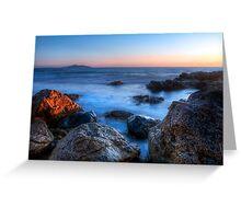 Seaside Rocks Greeting Card