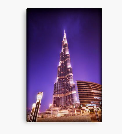 The Burj Canvas Print