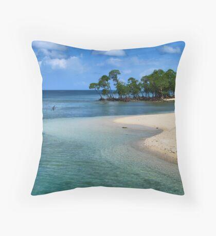 Tranquil Andaman (INDIA) Throw Pillow