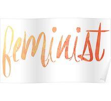 Feminist Typography 1 Poster