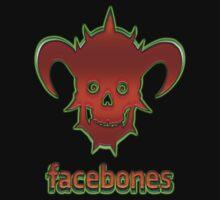 Dethklok's Facebones 2011 Kids Tee
