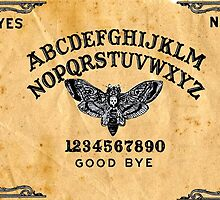 Death Head Moth Oracle Ouija Spirit Board  by studi03