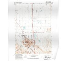 USGS Topo Map Oregon Baker City 278917 1994 24000 Poster