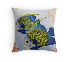 Two Fish Throw Pillow