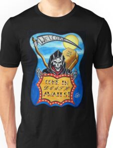 Death Awaits Unisex T-Shirt