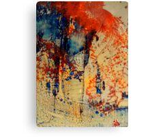 Watercolor Trees Canvas Print