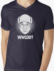 What would Larry David do? Mens V-Neck T-Shirt