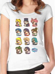 Pretty Soldier Sailor Puglie Women's Fitted Scoop T-Shirt