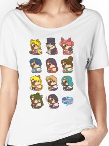 Pretty Soldier Sailor Puglie Women's Relaxed Fit T-Shirt