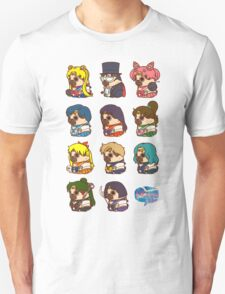 Pretty Soldier Sailor Puglie Unisex T-Shirt