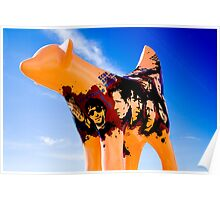 Lambanana and Blue Sky Poster