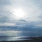 Sky impression on a cloudy day in Utersum, Föhr by aquaarte