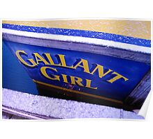 """The """"Gallant Girl"""" Poster"""