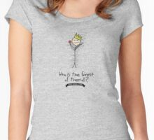 OUAT - Evil Queen - Who is the fairest? Women's Fitted Scoop T-Shirt