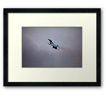 F-16 After Burn Framed Print