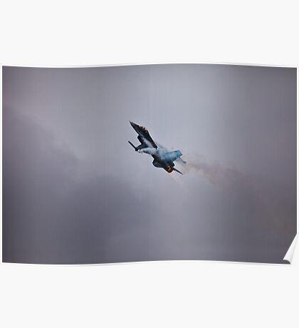 F-16 After Burn Poster