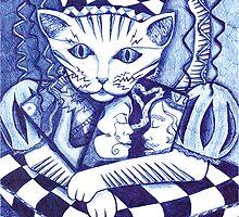 Medieval Cat  by lequarius