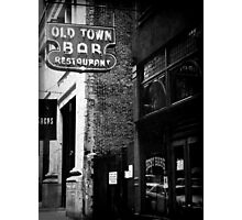 Old Town Bar Photographic Print