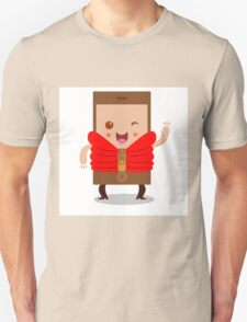 Mobile phone character Unisex T-Shirt