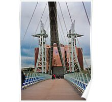 Lowry Bridge View Poster