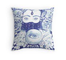 Pyschic Astrologer Throw Pillow